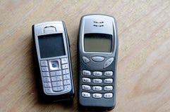 Παλαιά τηλέφωνα της Nokia Στοκ φωτογραφίες με δικαίωμα ελεύθερης χρήσης