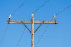 Παλαιά τηλεφωνική γραμμή Στοκ φωτογραφίες με δικαίωμα ελεύθερης χρήσης