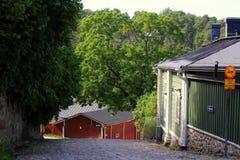 Παλαιά του χωριού οδός Στοκ Εικόνες