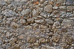 Παλαιά τραχιά σύσταση πετρών Στοκ εικόνα με δικαίωμα ελεύθερης χρήσης