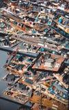 Παλαιά τσιπ σε μια αποθήκη εμπορευμάτων Στοκ Φωτογραφία