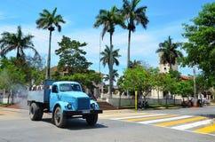 Παλαιά φορτηγά στην Κούβα Στοκ εικόνα με δικαίωμα ελεύθερης χρήσης