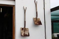 Παλαιά φτυάρια Στοκ εικόνες με δικαίωμα ελεύθερης χρήσης