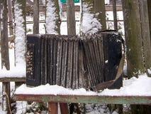 Παλαιά φυσαρμόνικα Bologovka Στοκ εικόνα με δικαίωμα ελεύθερης χρήσης