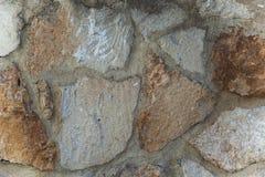 Παλαιά φυσική τοιχοποιία υποβάθρου φύσης Στοκ Εικόνες