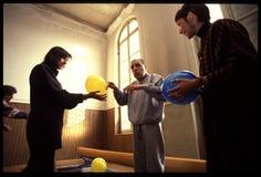1992 παλαιά φωτογραφία στο νοσοκομείο Psychiatic Στοκ Φωτογραφίες