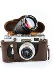 παλαιά φωτογραφία φωτογραφικών μηχανών Στοκ φωτογραφίες με δικαίωμα ελεύθερης χρήσης