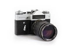 παλαιά φωτογραφία φωτογραφικών μηχανών Στοκ Εικόνες
