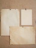 παλαιά φύλλα εγγράφου στοκ φωτογραφίες με δικαίωμα ελεύθερης χρήσης
