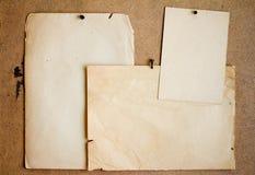 παλαιά φύλλα εγγράφου στοκ φωτογραφία με δικαίωμα ελεύθερης χρήσης