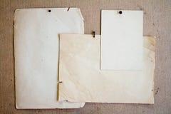 παλαιά φύλλα εγγράφου στοκ εικόνες