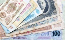 Παλαιά χρήματα της ΕΣΣΔ Λένιν ρούβλια Στοκ εικόνα με δικαίωμα ελεύθερης χρήσης