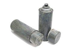 Παλαιά χρησιμοποιημένα δοχεία ψεκασμού στοκ φωτογραφία με δικαίωμα ελεύθερης χρήσης
