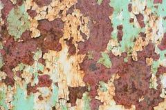 παλαιά χρωματισμένη επιφάνεια Στοκ Φωτογραφία