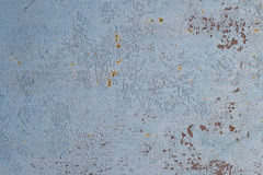 παλαιά χρωματισμένη επιφάνεια Στοκ φωτογραφίες με δικαίωμα ελεύθερης χρήσης