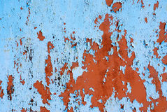 παλαιά χρωματισμένη επιφάνεια Στοκ εικόνες με δικαίωμα ελεύθερης χρήσης