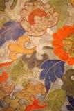 Παλαιά χρωματισμένη διακόσμηση Στοκ Εικόνες