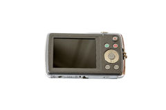 Παλαιά ψηφιακή κάμερα που απομονώνεται στο άσπρο υπόβαθρο Στοκ εικόνες με δικαίωμα ελεύθερης χρήσης
