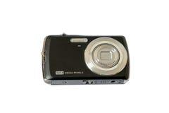 Παλαιά ψηφιακή κάμερα που απομονώνεται στο άσπρο υπόβαθρο Στοκ Φωτογραφία
