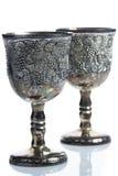 Παλαιά goblets κρασιού Στοκ Φωτογραφίες