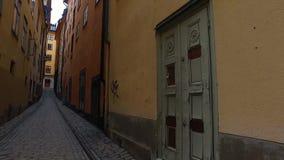παλαιά stan πόλη της Στοκχόλμης gamla φιλμ μικρού μήκους