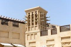Παλαιά townhouses στο Ντουμπάι Ηνωμένα Αραβικά Εμιράτα Στοκ Εικόνα
