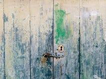 Παλαιές άσπρες πόρτες Ξύλινη σύσταση Στοκ εικόνες με δικαίωμα ελεύθερης χρήσης