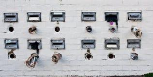 Παλαιές αγροτικές ταχυδρομικές θυρίδες Στοκ Εικόνες