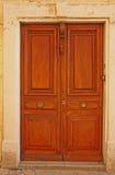 Παλαιές γαλλικές πόρτες Στοκ Εικόνα