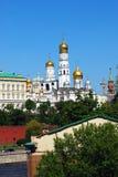 Παλαιές εκκλησίες της Μόσχας Κρεμλίνο Στοκ φωτογραφία με δικαίωμα ελεύθερης χρήσης