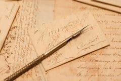 Παλαιές επιστολές Στοκ εικόνα με δικαίωμα ελεύθερης χρήσης