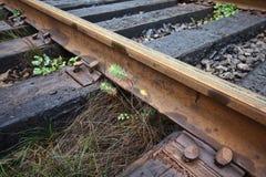 Παλαιές διαδρομές σιδηροδρόμου Στοκ εικόνα με δικαίωμα ελεύθερης χρήσης