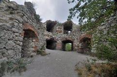 παλαιές καταστροφές κάστρων Στοκ Εικόνες