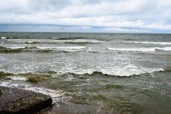 Παλαιές καταστροφές πολεμικών οχυρών στην παραλία Στοκ εικόνες με δικαίωμα ελεύθερης χρήσης