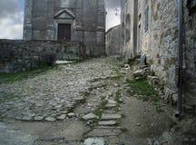 Παλαιές καταστροφές πόλεων σε Istria Στοκ Εικόνα
