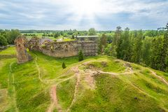 Παλαιές καταστροφές Στοκ εικόνες με δικαίωμα ελεύθερης χρήσης