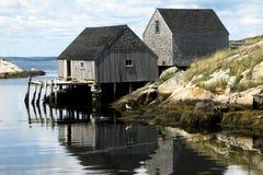 Παλαιές καλύβες Στοκ Εικόνες