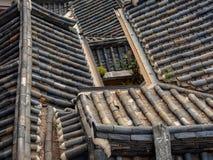 Παλαιές κορεατικές στέγες Στοκ εικόνες με δικαίωμα ελεύθερης χρήσης