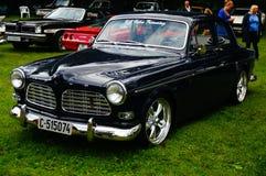 Παλαιές κλασικές μαύρες λεπτομέρειες κολπίσκων αυτοκινήτων Στοκ εικόνα με δικαίωμα ελεύθερης χρήσης