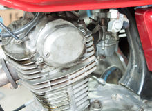 Παλαιές μηχανές μοτοσικλετών Στοκ Εικόνα