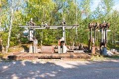Παλαιές μηχανές ορυχείου Στοκ εικόνες με δικαίωμα ελεύθερης χρήσης