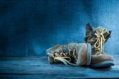 Παλαιές μπότες εργασίας, ακόμα ζωή Στοκ φωτογραφία με δικαίωμα ελεύθερης χρήσης