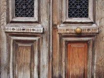 Παλαιές ξύλινες πόρτες Στοκ φωτογραφία με δικαίωμα ελεύθερης χρήσης