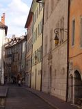 Παλαιές οδοί της Ευρώπης Στοκ Εικόνες