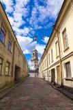 Παλαιές οδοί Vyborg, Ρωσία Στοκ Εικόνες