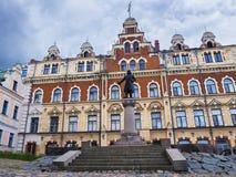 Παλαιές οδοί Vyborg, Ρωσία Στοκ φωτογραφίες με δικαίωμα ελεύθερης χρήσης