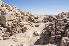 Παλαιές ρωμαϊκές καταστροφές στην ακτή ερήμων στοκ φωτογραφία με δικαίωμα ελεύθερης χρήσης