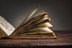 παλαιές σελίδες βιβλίων Στοκ Εικόνα