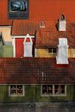 παλαιές στέγες Στοκ φωτογραφίες με δικαίωμα ελεύθερης χρήσης