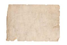 Παλαιές συστάσεις εγγράφου - τέλειο υπόβαθρο με το διάστημα Στοκ Φωτογραφία